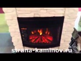 Электрокамин Elford (античный дуб)+Firespace 25 S IR RealFlame - strana-kaminov.ru