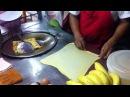 Блинчики с бананом и яйцом Тайланд Паттайя