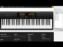 UoPilot играет на пианино