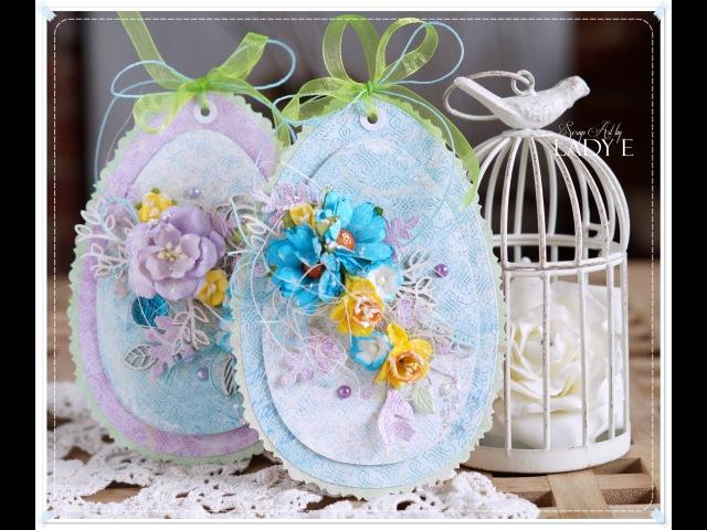 Easter Eggs Cardmaking Tutorial Wild Orchid Crafts * Emilia Sieradzan *