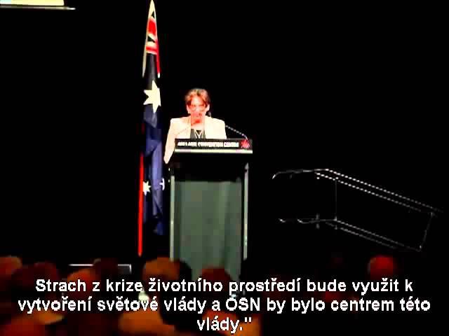 "Odhalení: Pravda z úst australské senátorky Ann Bressington o ""NWO"