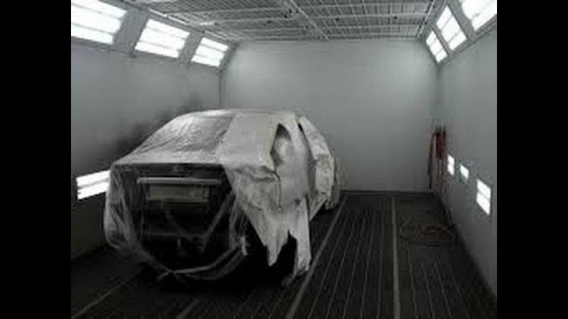 Подготовка авто к покраске Часть- 2 (Kio Rio)