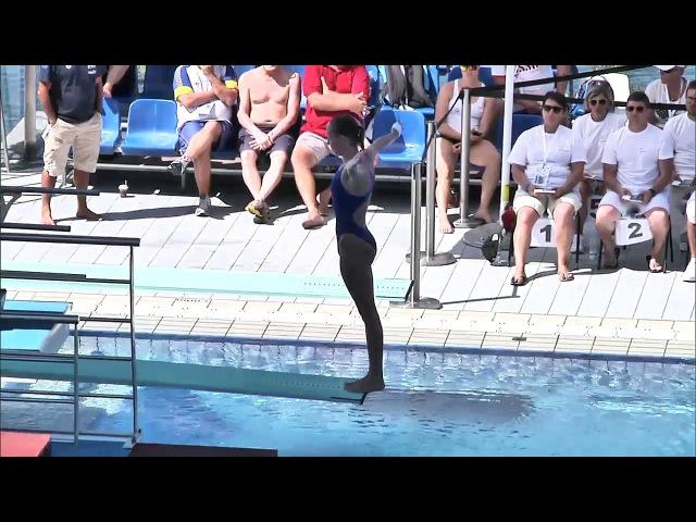 European Junior Diving Championships - Rjeka 2016 (22) Series girls 1m
