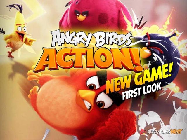 Кампанія «Rovio» выпусціла новую гульню з серыі «Angry Birds» / Дэвайс <Белсат>