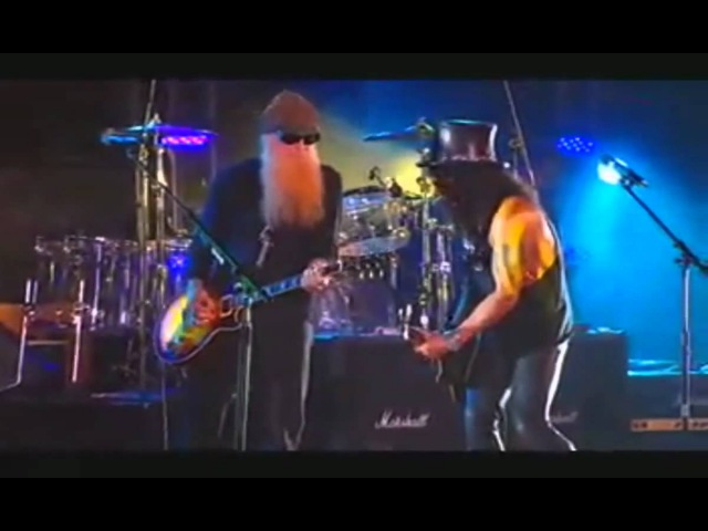 SLASH BILLY GIBBONS (ZZ TOP) Live [HD] La Grange