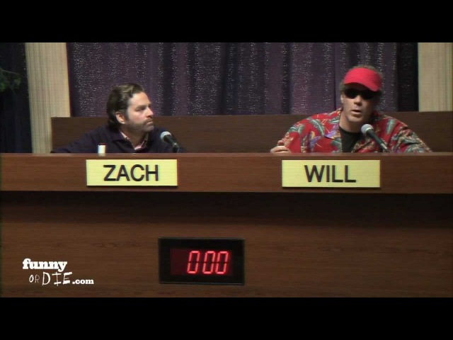 Will Ferrell Zach Galifianakis Debate Children