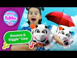 HAPPY MILA TV - веселая прыгающая корова - радость познания - фишер прайс