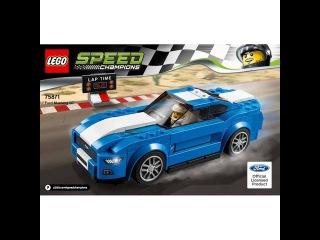 LEGO Speed Champions 75871 Chevrolet Corvette Z06. Инструкция по сборке