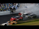 Аварии на гонках NASCAR. Accidents at NASCAR races.