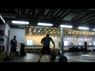 Rob O from Hybrid Athletics Masters Qualifier Wod 4 2016