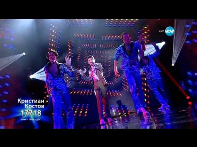 Кристиан Костов - Treasure - X Factor Live (01.12.2015)