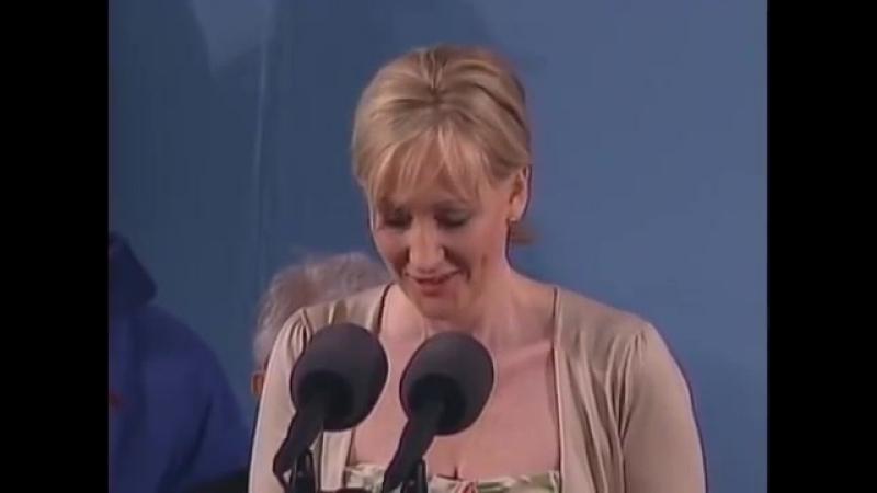 J.K. Rowling Harvard Commencement Speech Harvard University Commencement 2008