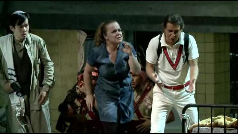 Квартет Осирида, Эльчии, Аронна и Амалтеи из оперы Дж. Россини Моисей в Египте Pesaro 2011
