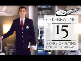 15 years of flying for British Airways as cabin crew