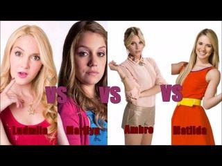 Violetta vs Chica Vampiro vs Soy Luna vs Grachi
