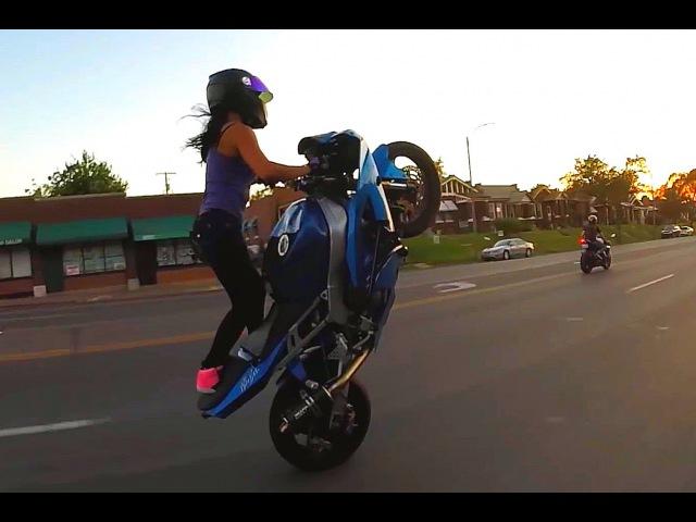 VDJ Smile 2018 ★ Beautiful Girls on Motorcycle