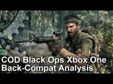 Call of Duty Black Ops 1 Xbox One Backwards Compatibility Frame-Rate Test