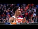 Блокшот Лайдена закрепляет победу Syracuse.