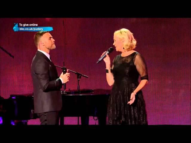 AGNETHA FÄLTSKOG (ABBA): I Should've Followed You Home (with Gary Barlow) / live 2013 [HD video]