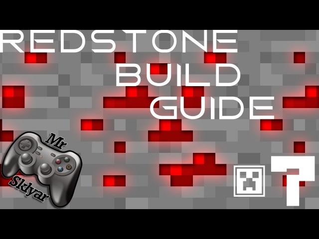RedStone Guide - 7 - Декодер, мультиплексор, сдвиг