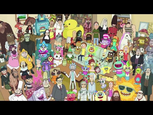 Рик и МортиRick and Morty 2 сезон 4 серия Вспомрикмнуть всё Total Rickall