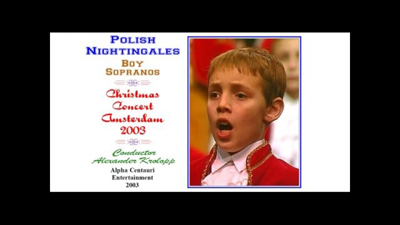 Video: Boy soprano soloist of the Polish Nightingales sings Lulajze Jezuniu
