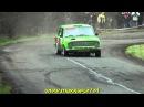 Авто спорт гонки Аварии на Eger Rally