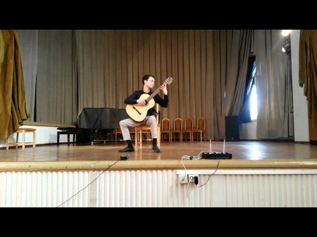 Carlos Moscardini - Milonga de un entrevero (perform Karpikov Denis)
