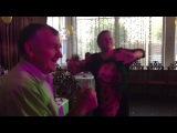 Веселая свадьба Славы и Ани 9.07.16 кафе