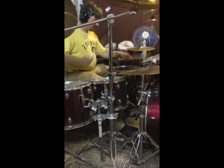 Deen castronovo drum fill (s. vai - kill the guy with a ball...) romick's cover