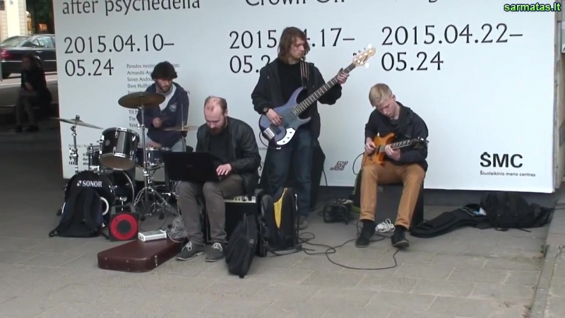 Vilnius. Gatves muzikos diena 2015 gegužės 16.