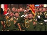 Парад Победы 2016 - 9 мая (ВА РХБЗ и ИВ)