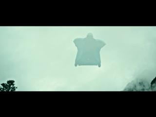 Потрясающий полет как белки летяги - чувства потрясающие вызывает даже просмотр [На гребне волны, 2015]