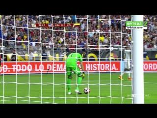 Копа Америка 2016. Матч за 3-е место. США - Колумбия (1 тайм)