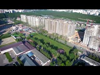 UP-квартал «Новое Тушино» (динамика строительства 30.05.2016)