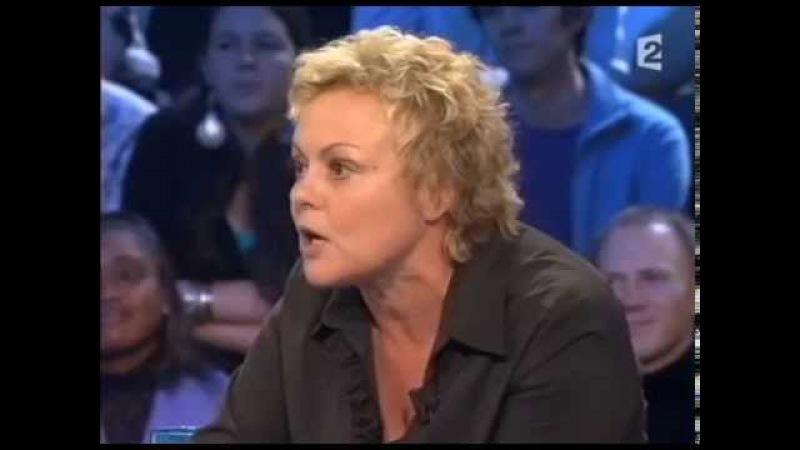 Bernard Tapie et Muriel Robin quittent le plateau - On n'est pas couché 16 décembre 2006 ONPC