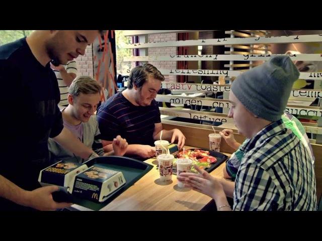 NiP Gaming beta testing McNip | McDonald's Sverige