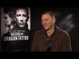 Daniel Craig Interview - The Girl With The Dragon Tattoo - With Rickie, Melvin &amp Charlie - KISS FM