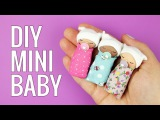 DIY miniature Baby DIY Miniature doll baby pacifier DIY Miniature doll baby Crib