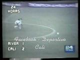 River Plate 1 - 2 Deportivo Cali Copa Libertadores 1981 - Museo Verdiblanco