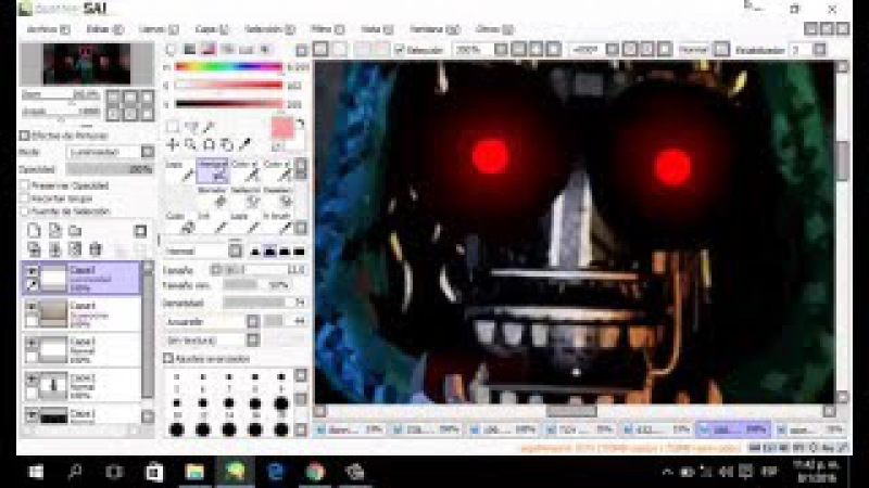 [Speed Edit]Making Withered/old Toy bonnie - Haciendo a Marchito/viejo Toy bonnie