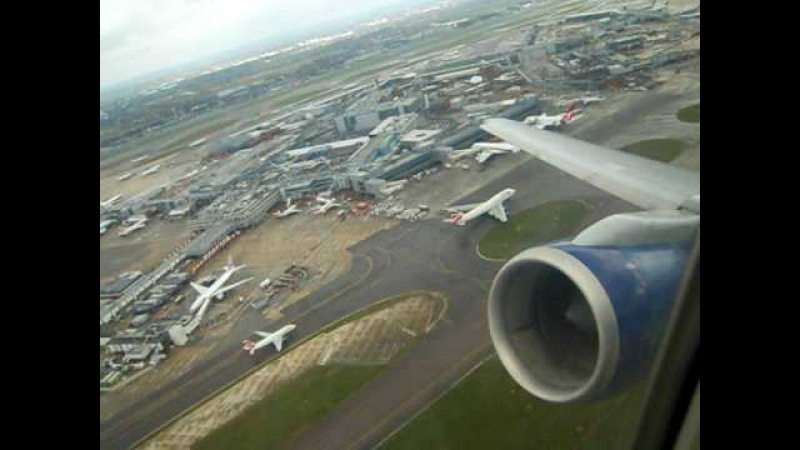 British Airways Boeing 757-200 G-CPER amazing powerful and steep take off at London Heathrow (LHR)