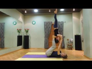 8 марта, Акро-Йога, Сергей Розол + Кристина Гаврусева