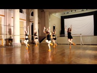 техника танца AFRO-JAZZ