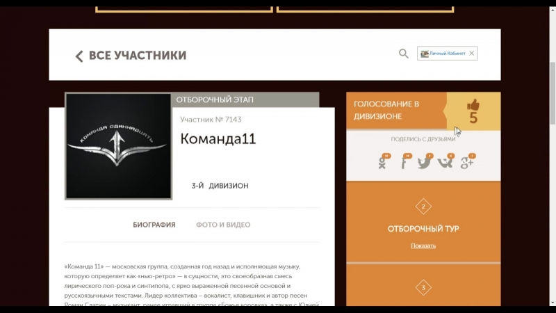Голосование на сайте vip-proba.ru конкурс Высшая проба