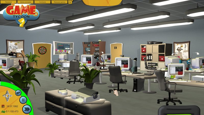 Game Tycoon 2 (2016) PC - Скриншот 1