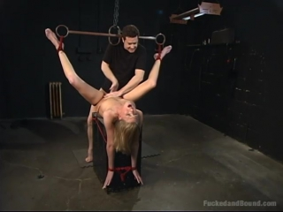 [bdsm house] locked in inescapable chains [fucked and bound]