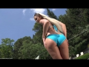 InTheCrack ∞  Lola 01 Amateur teen blonde hot girl porno model big ass anal nice legs загорелая девушка раздевается секси попка