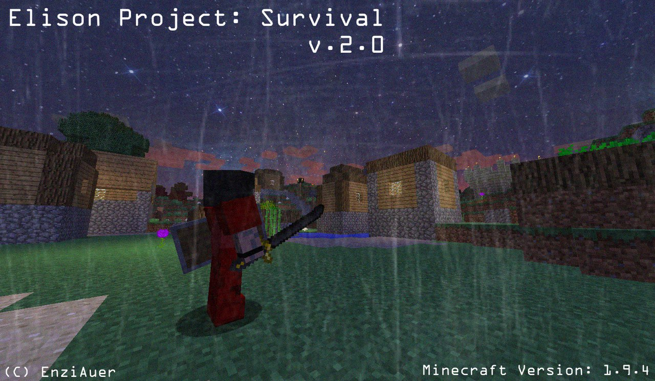 [Клиент][Survival|RPG|1.9.4] Elison Project: Survival v. 2.0 ALPHA