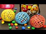 РАЗНОЦВЕТНЫЕ ШОКОЛАДНЫЕ ШАРЫ МЯЧИКИ С M&ampM's для декора детского дня рождения. - YouTube